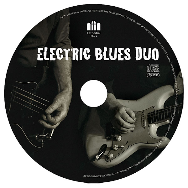 Grafikdesign und Fotos, Band Electric Blues Dou